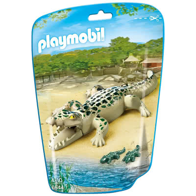 PLAYMOBIL ALLIGATORE CON CUCCIOLI 6644