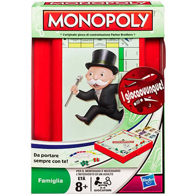 GIOCO IN SCATOLA MONOPOLY TRAVEL