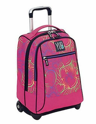 ZAINO SEVEN YUB BIG TROLLEY MURALES GIRL 2B3001819